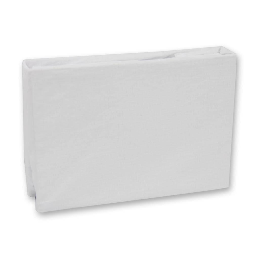 Lençol Solteiro Royal 0,90cm x 1,90m x 0,30cm Com Elastico Branco Santista - ROYAPLESM001