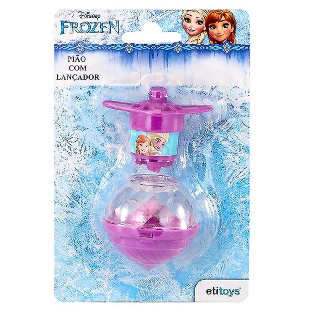 Pião Luminoso Frozen Vendido Unitário Etitoys - DY155