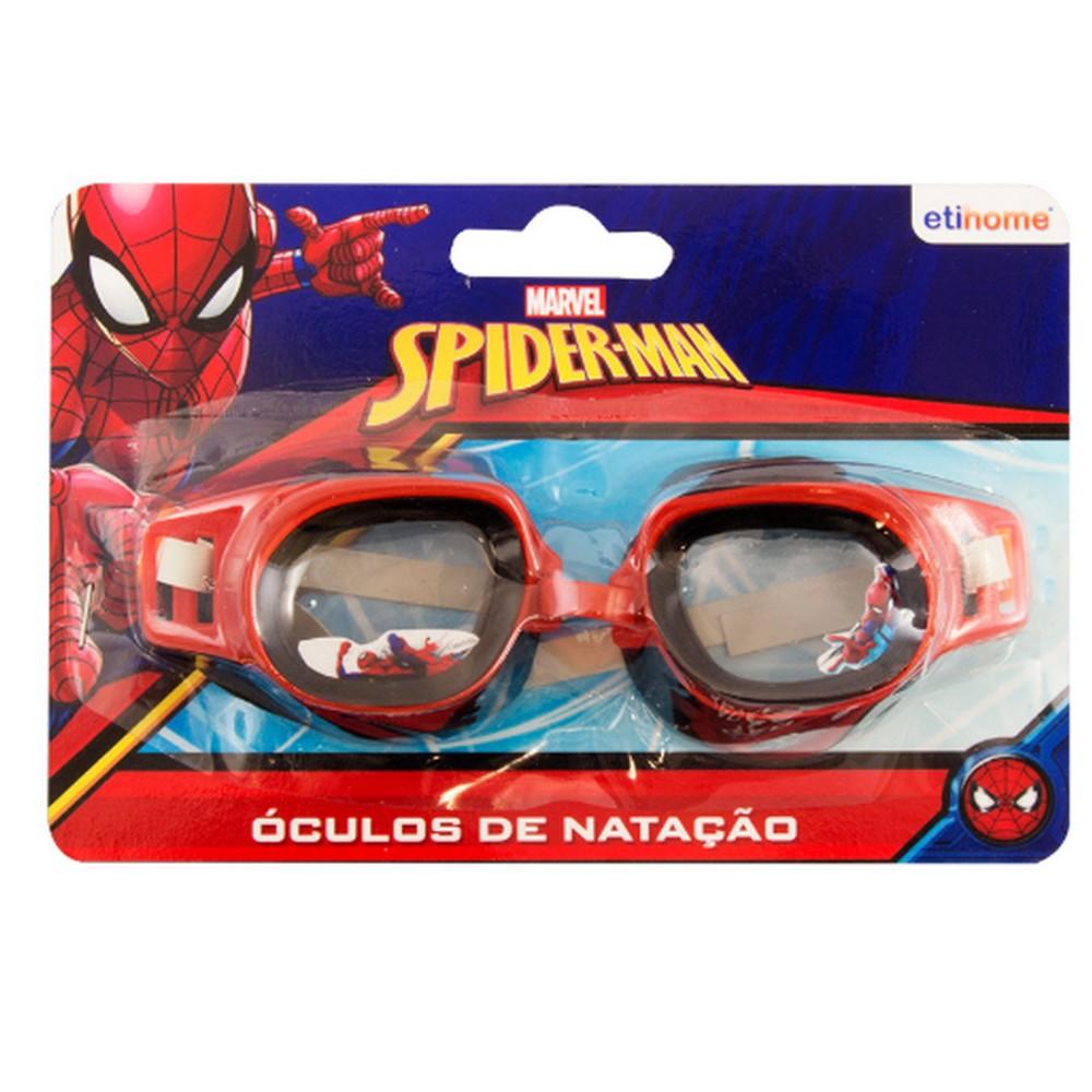 Oculos para Natação Infantil Spiderman Unidade Vermelho/Preto Etihome - DYH-230 - DYH-230