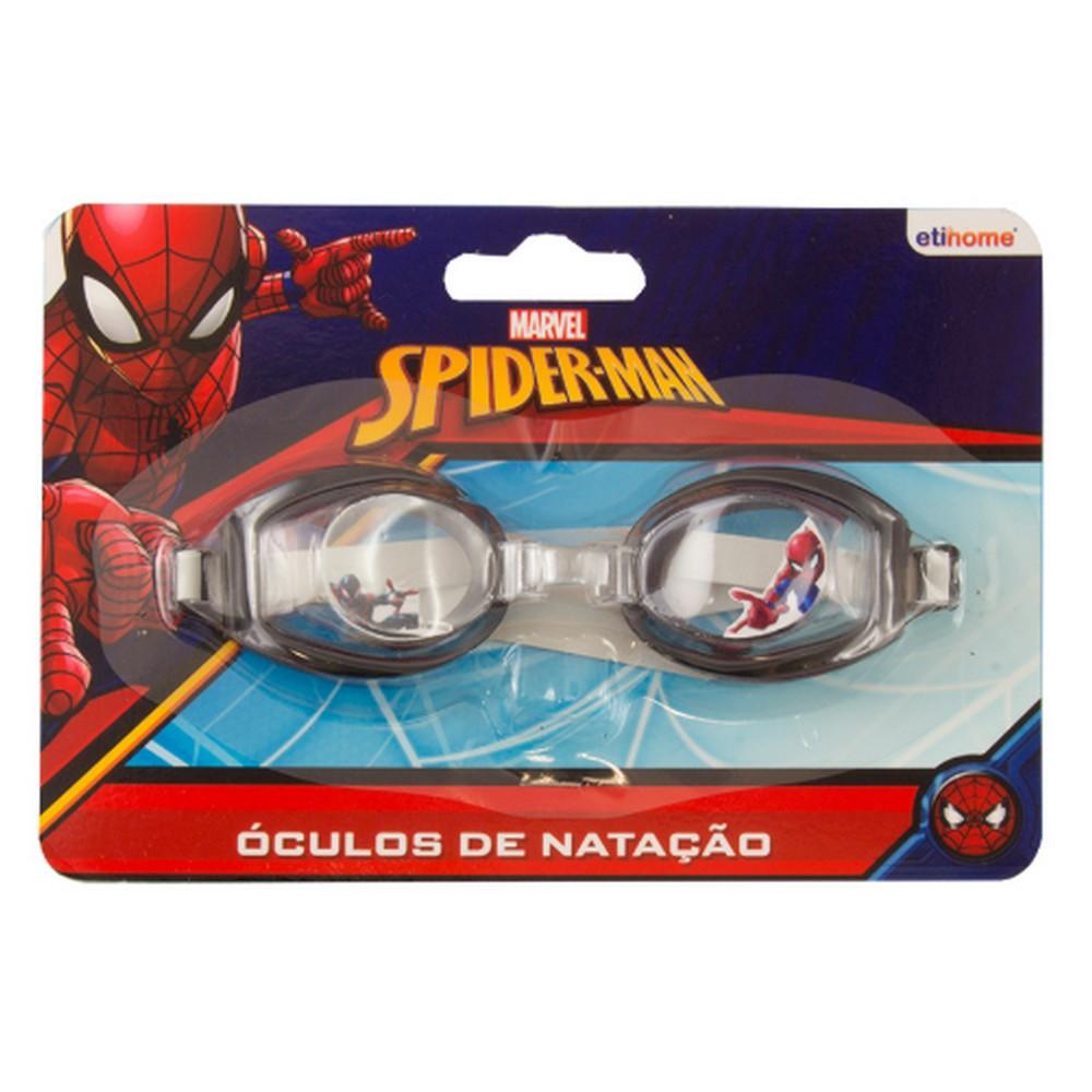 Oculos para Natação Infantil Spiderman Unidade Preto Etihome - DYH-236 - DYH-236