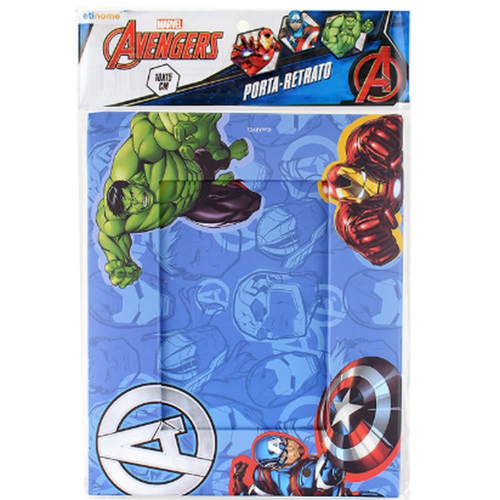 Porta Retrato Plastico Avengers Azul Etihome - DYH-534 - DYH-534