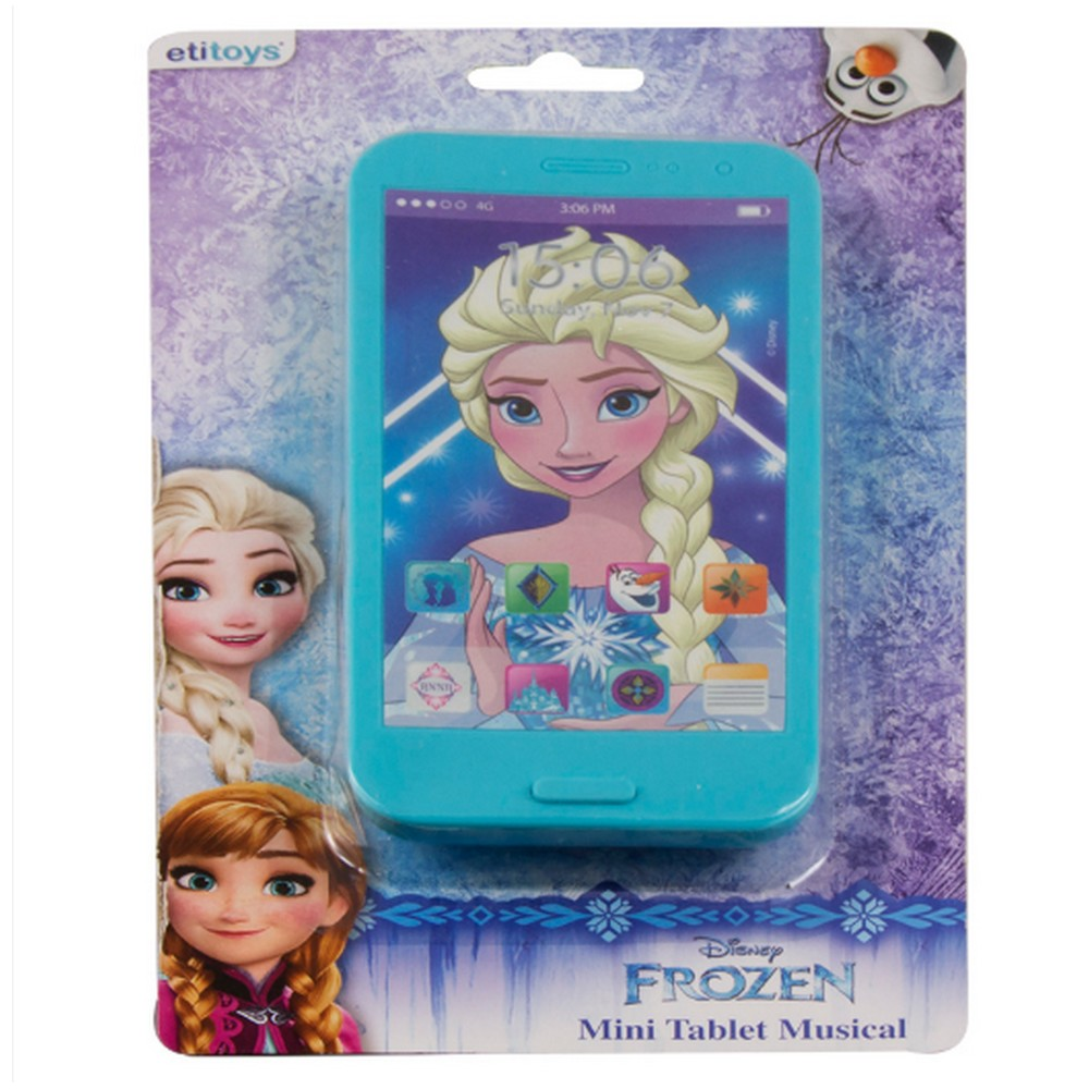 Mini Tablet Musical Frozen Unidade  Etitoys - DY-279