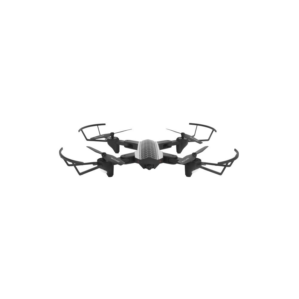 Drone Shark com Controle e Câmera HD FPV com Alcance de 80 Metros Multilaser - ES177