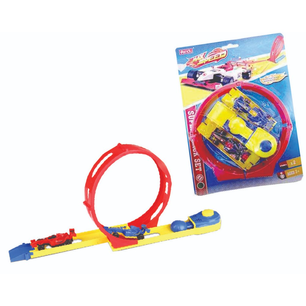 Alta Velocidade Max Speed Looping Baby Toys Vermelho VMP - 337.6.99