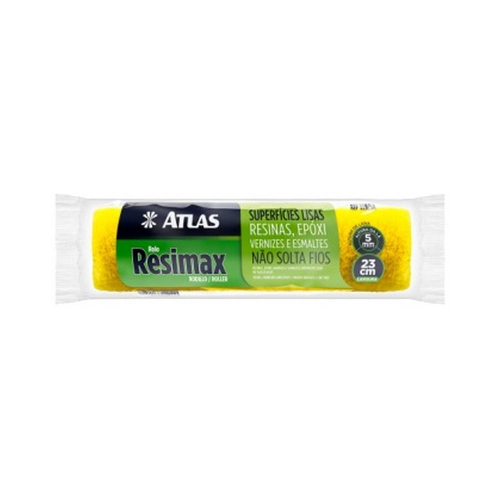 Rolo para Pintura Lã Sintética Resimax 23cm Atlas - 339/5A