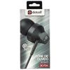 Fone de Ouvido Intra-Auricular Earphone com Microfone Preto Dotcell - DC-F24