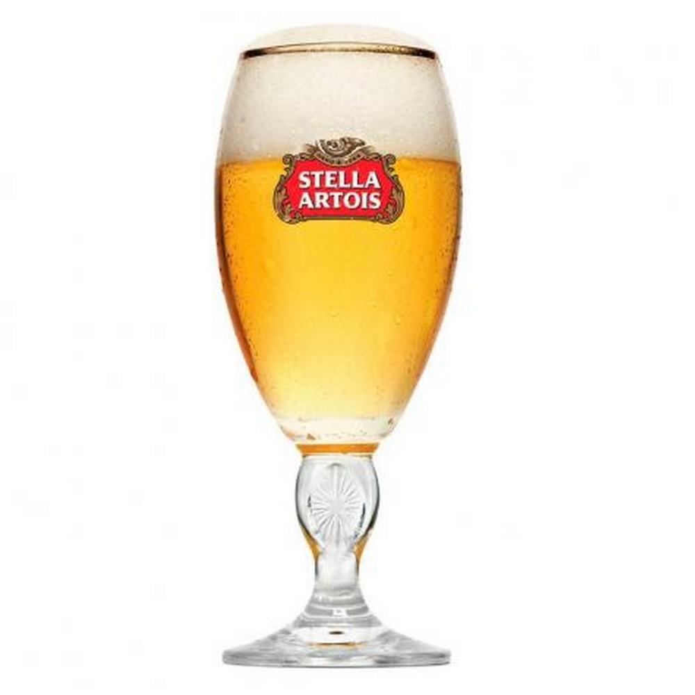 Taça de Vidro para Cerveja Stella Artois 250ml Ambev - 1002025 - 1002025