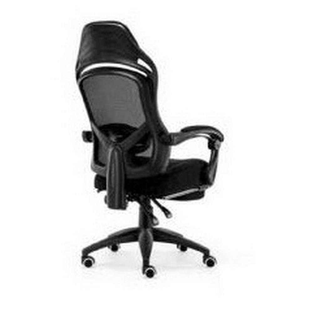 Cadeira Giratória com Braço Presidente Preto Exbom - 03256 ZY-9674