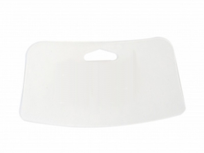 Espátula Plástica para Massa Corrida Branco Gerplast - Unitário - 1044