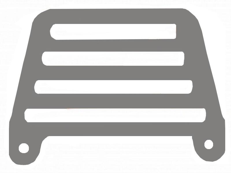 Passarinheira Duplan Gerplast Cinza Pacote com 100 Unidades - 2425-0002