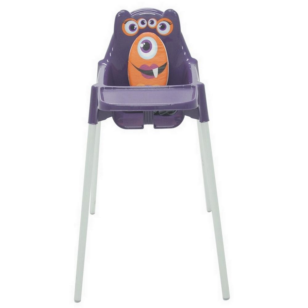 Cadeira Infantil Refeição Monster Alta de Plástico - Lilaz - Tramontina - 92372/080