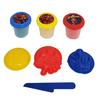 Areia de Modelar com 4 Acessorios 3 Cores Sortidas Spiderman - 70 Gramas Cada - Etitoys - DY-976 - DY-976