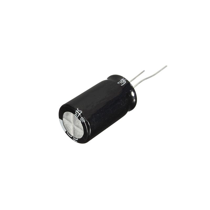 Capacitor Eletrolítico 100 X 100V 105 Graus Chip Sce - 100-105
