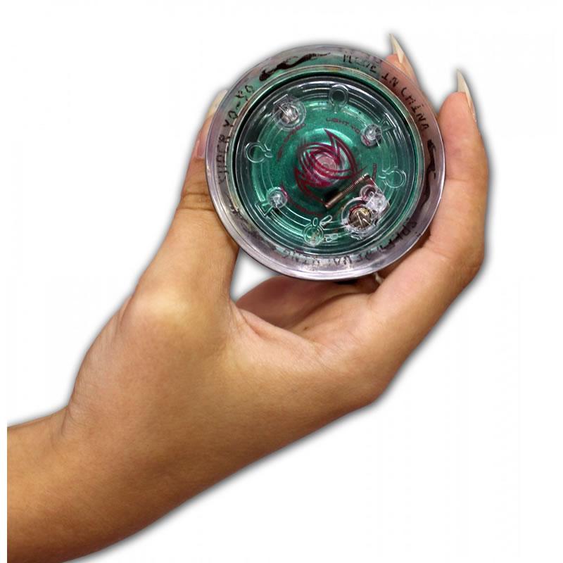 YO-YO Profissional com Rolamento em Aço Brilha no Escuro Hardline - 7938