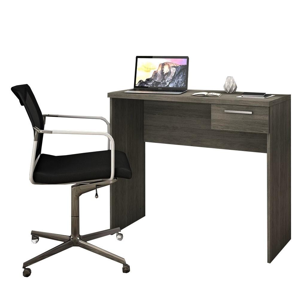 Mesa Computador 1 Gaveta 900mm Canela Notável - NT2000