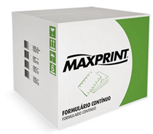 Formulário 132C 1 Via Branco 3000F Maxprint - 4111884