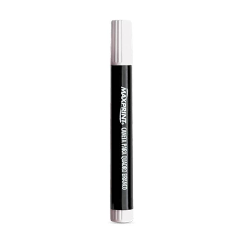 Caneta Quadro Branco 2,0mm Unitário Preto - Maxprint - 70318-1