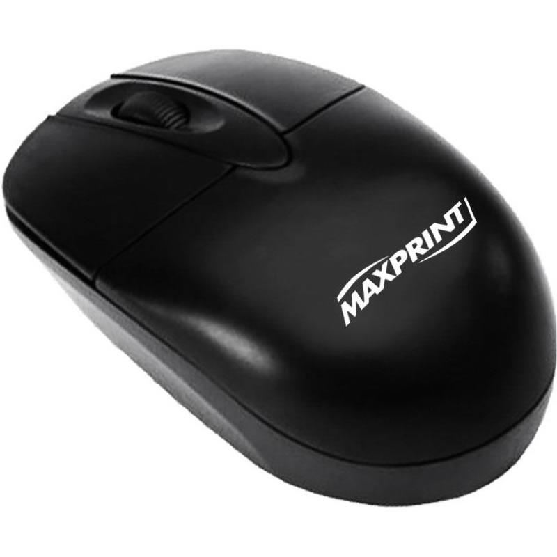 Mouse PS2 Maxprint 606066 800dpi Preto
