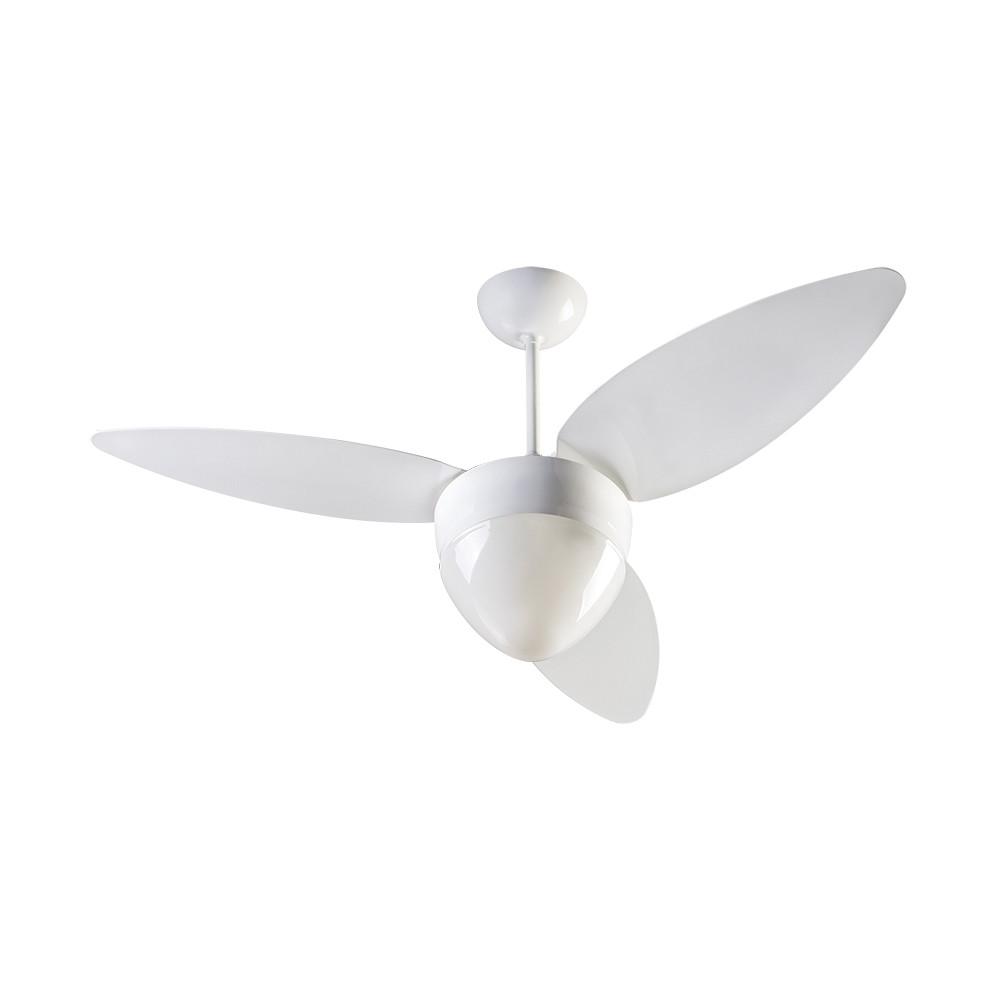 Ventilador de Teto Ventisol Aires 127 Volts 130 Watts 3 Pás Branco  -382