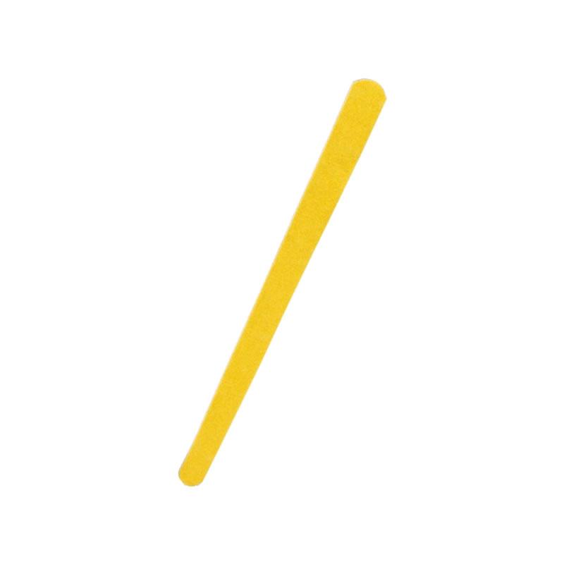 Lixa para Unhas - Grossa - Amarelo Canário - Unitário - Santa Clara - 192