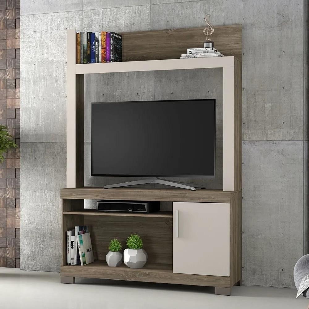 Estante para TV até 43 Polegadas 1020mm Canela Areia - Notável - NT1020