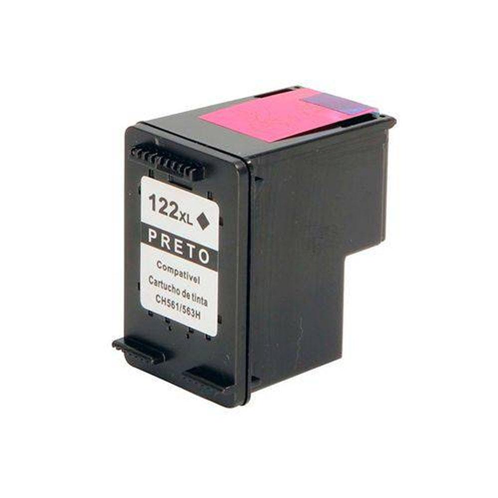 Cartucho de Tinta HP 122XL Preto Premium - CH563HB/122 BLACK