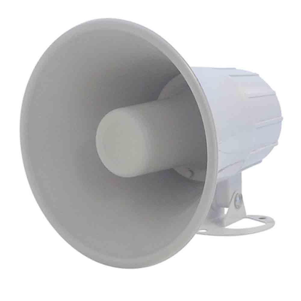 Sirene Compacta de Alta Potência 20 Watts 12 Volts 5 Polegadas Branco - 1 Tom - Multitoc - MUSC0011 - BRANCO