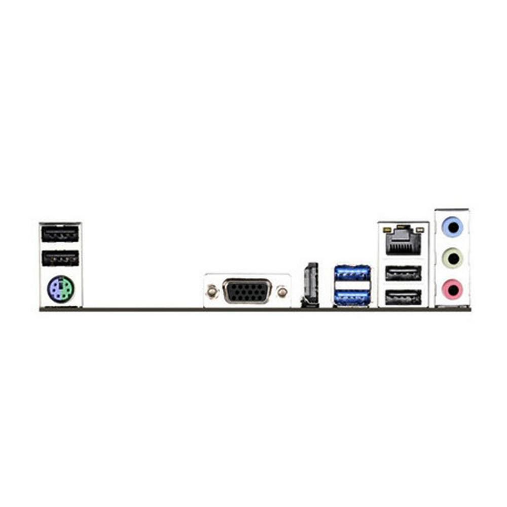 Placa Mãe Asrock H81M-HG4 para Intel LGA 1150 Memória DDR3 Som Video e Rede