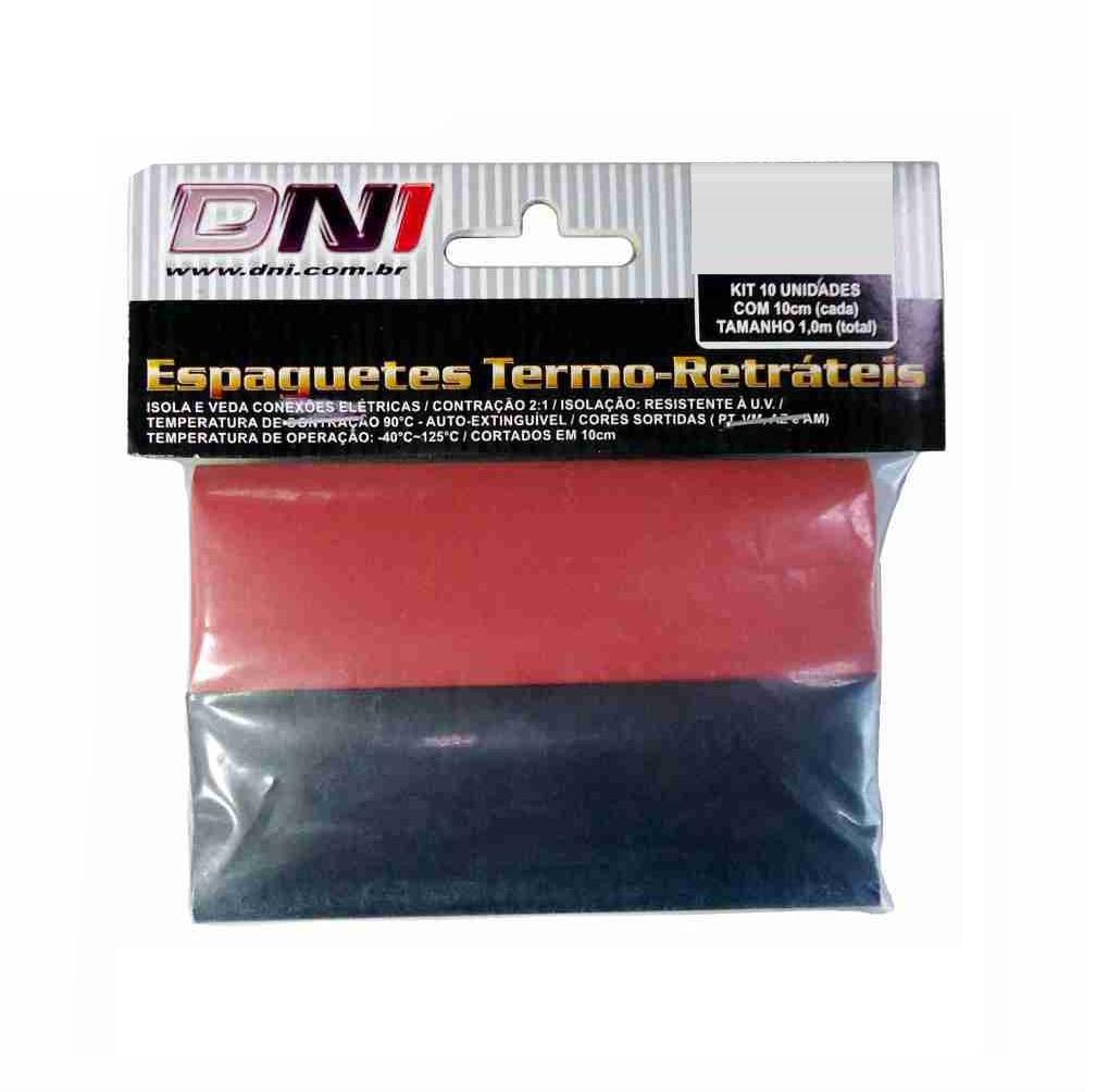Espaguete Termo-Retrátil 20mm DNI 10 Unidades - 5120 - 5120