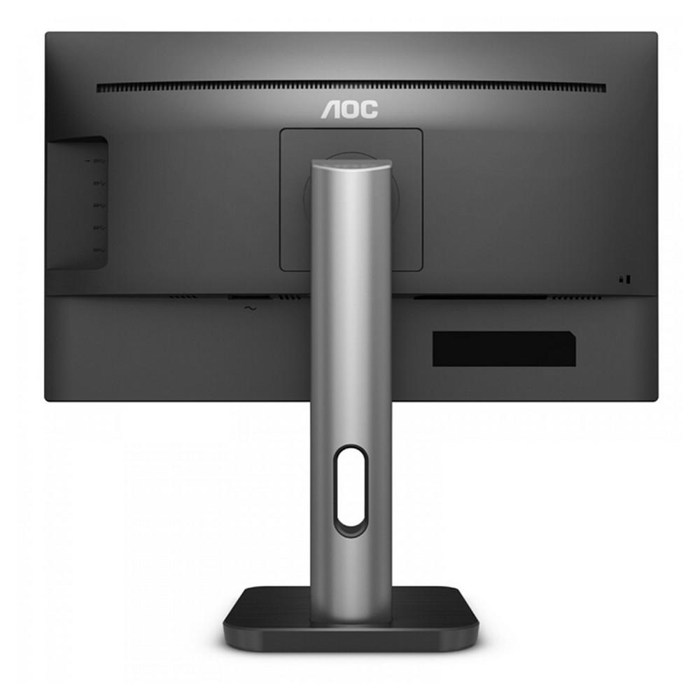 Monitor AOC 9P1E Tela 18,5 LED Preto D-Sub/HDMI/DisplayPort Ajuste de Altura