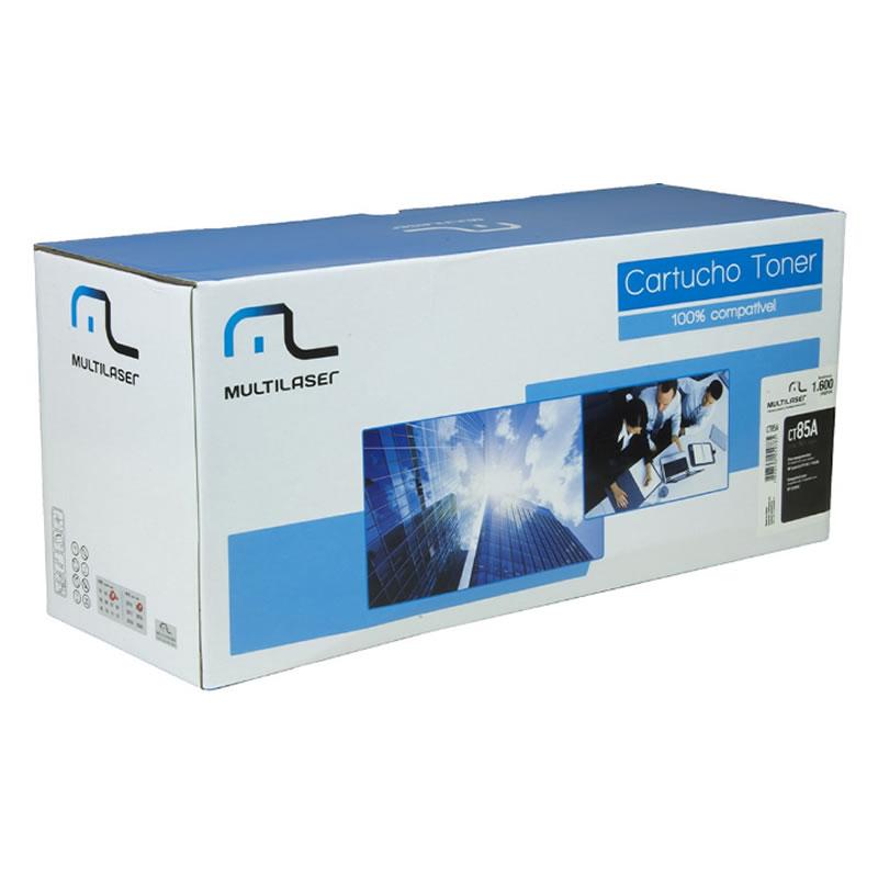 Toner HP 85 Preto CE-285 Multilaser - CT85A - Vendido Unitário