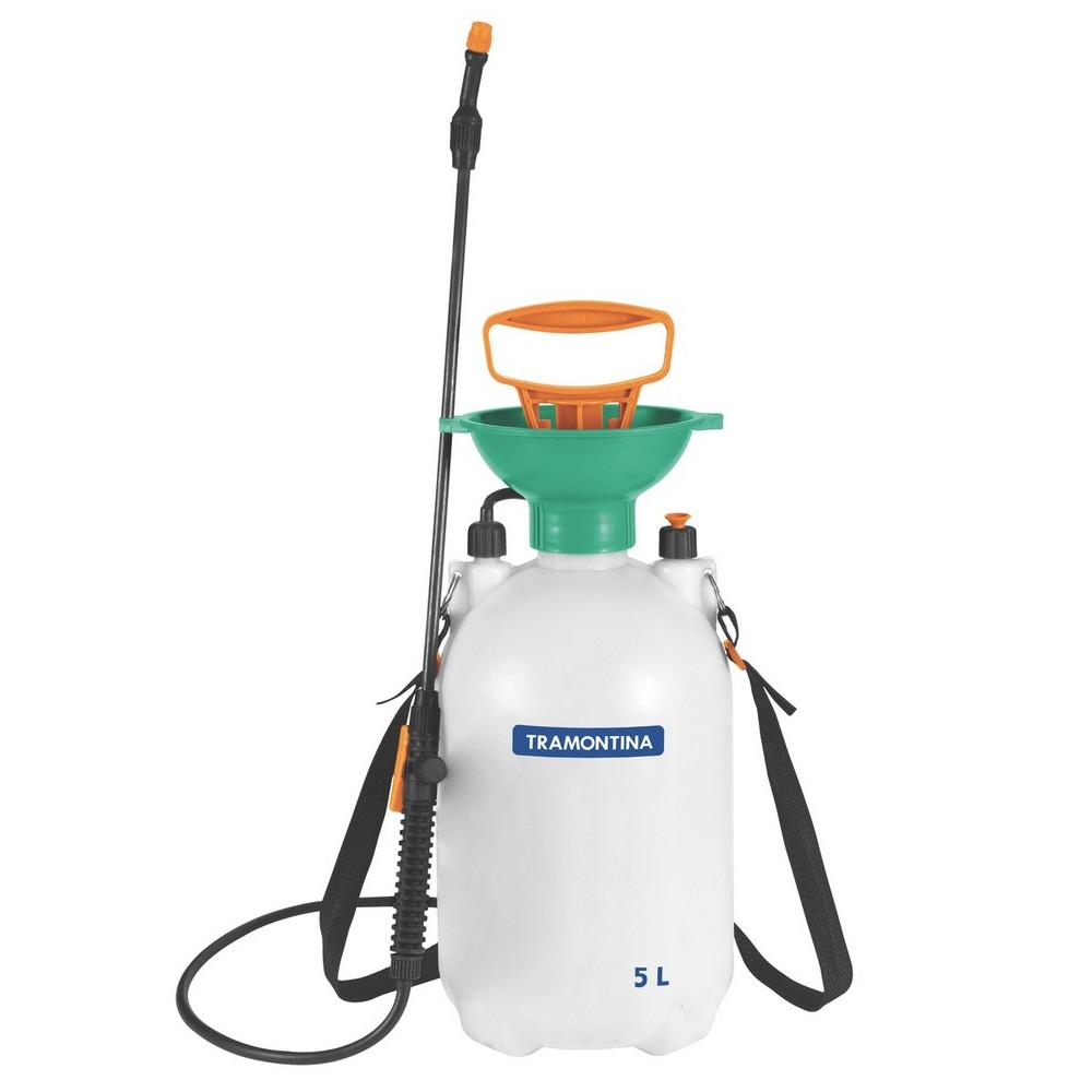 Pulverizador Plástico 5 Litros Compressão Previa Tramontina - 78615/500