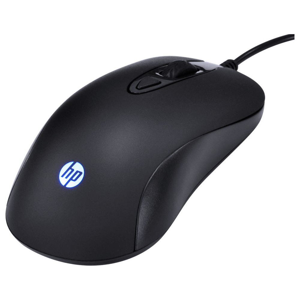 Kit Teclado + Mouse USB HP Gamer Preto - KM100 - KM100