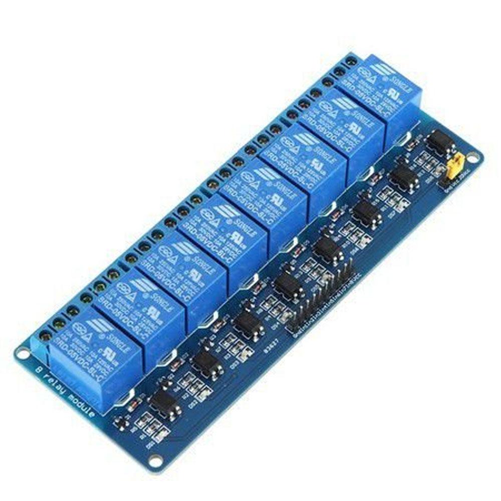 Módulo Relé 8 vias 5V Chip Sce - 010-0159
