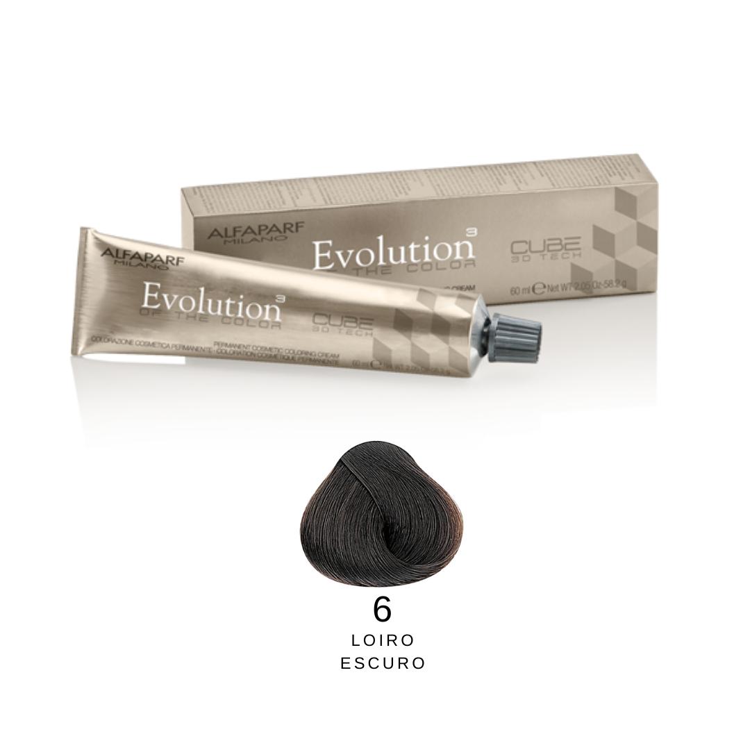 6 - Loiro Escuro -  Alfaparf Evolution Naturais