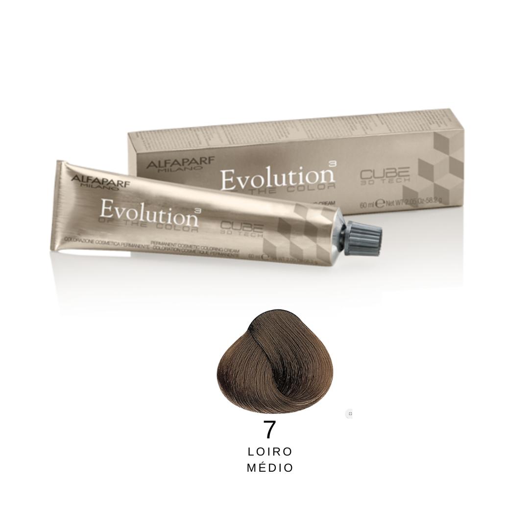 7 - Loiro Médio -  Alfaparf Evolution Naturais
