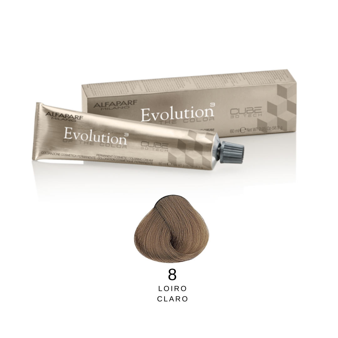 8 - Loiro claro -  Alfaparf Evolution Naturais