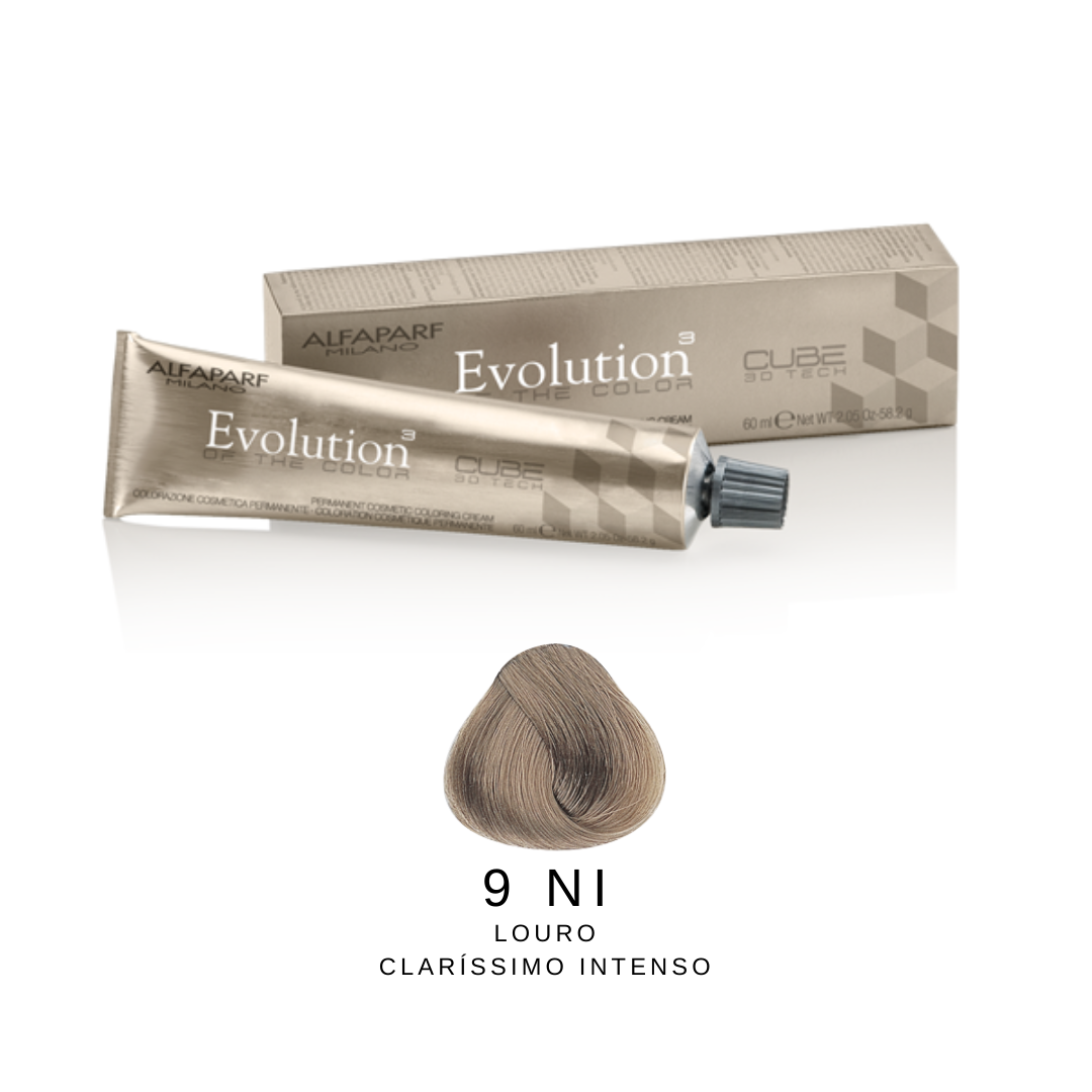 9NI - Loiro Claríssimo Natural Intenso - Alfaparf Evolution