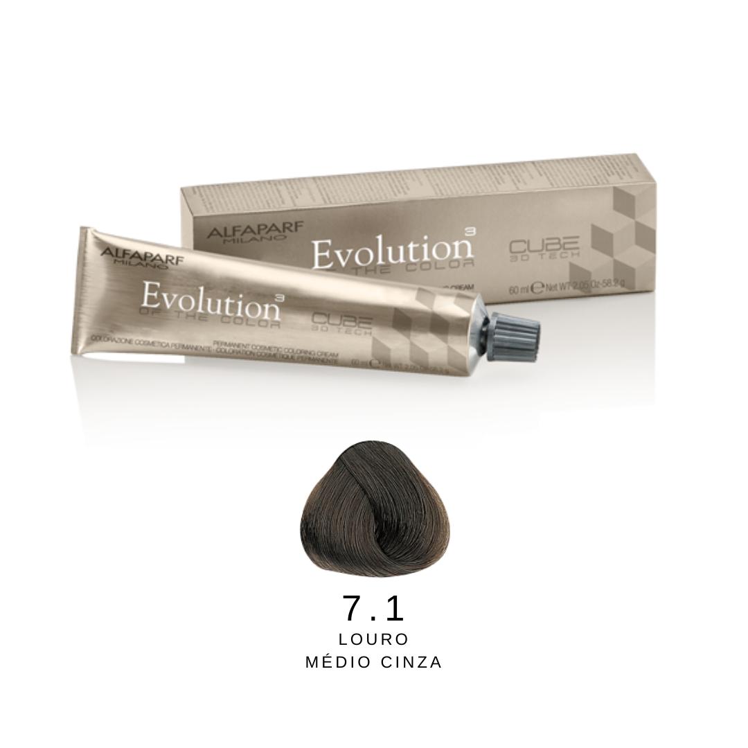 7.1 - Loiro Médio Cinza - Alfaparf Evolution