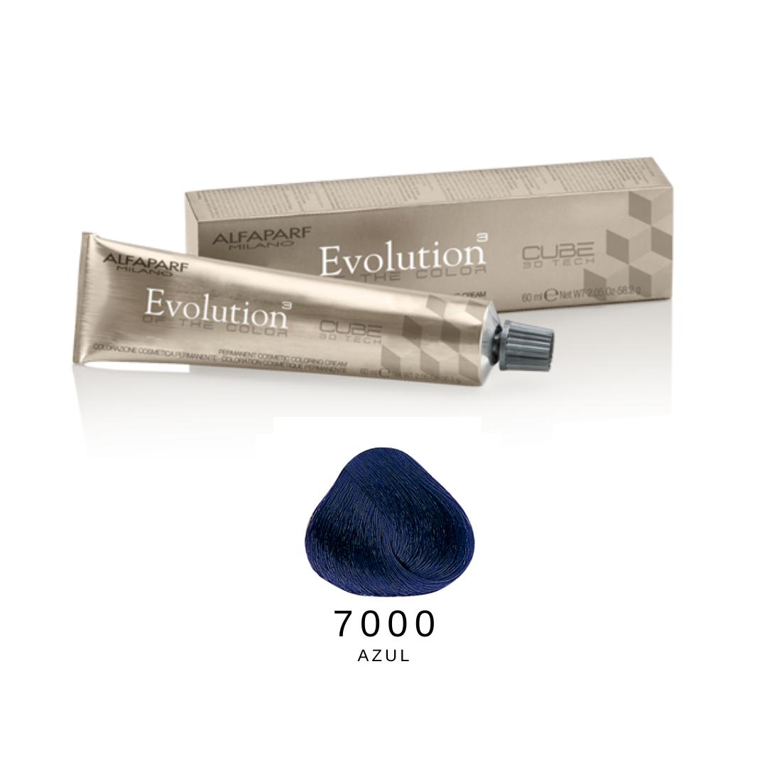 7000 - Azul - Coloração Alfaparf Evolution Corretores
