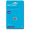 Cartão de Memória Multilaser 8 GB Micro SDHC Classe 4 - MC141