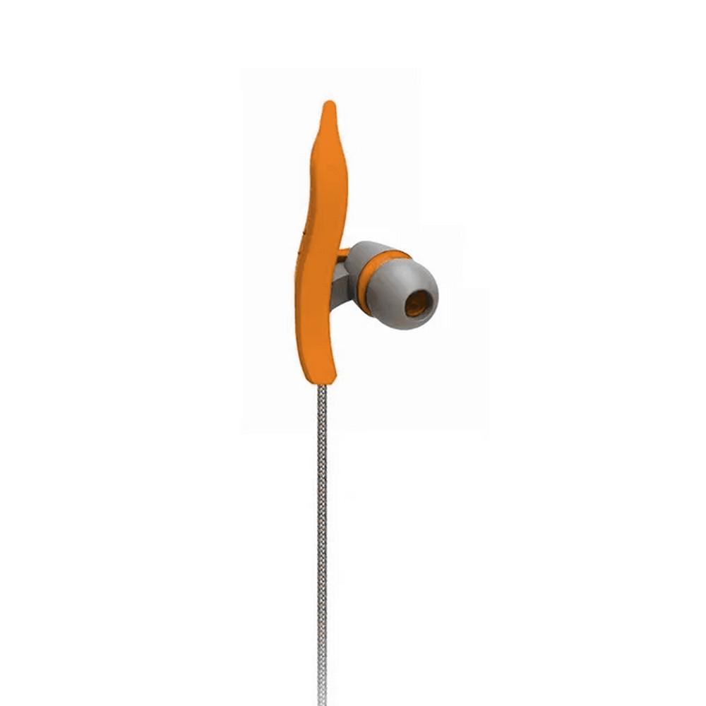 Fone de Ouvido Auricular Earphone com Microfone Fitness Laranja Neon Multilaser - PH167