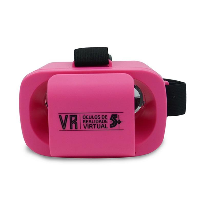Óculos Realidade Virtual 3D Infantil Mini Rosa ChipSce - 015-0044 - 015-0044