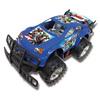 Carrinho Fricção Avengers Ciclone Azul  - DY-241