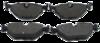 PASTILHA DE FREIO de Cerâmica BMW 316 / 318 / 320 / 325i / 328 / 540i - Eixo Traseiro - FP75