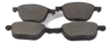 Pastilha de Cerâmica FASTPAD - FORD Ecosport / Focus - MAZDA Mazda 3 / 5 - VOLVO C30 / C70 / S40 / V50 - Dianteira - FP733
