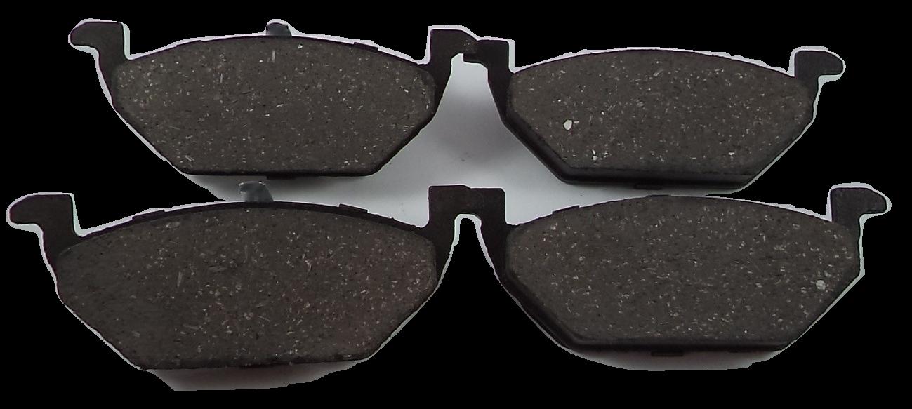 Pastilha de Cerâmica A3 / Leon/ Fox/ Bora/ Polo/ Golf/ New Beetle/ Space Fox/ UP / Toledo - Dianteira - FP58
