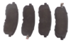 PASTILHA DE FREIO de Cerâmica FASTPAD -  NISSAN Sentra / Novo Sentra / Altima / Maxima / 350Z - SUZUKI SX4 - Infiniti G35 / G20 / I30 / I35 - Dianteira - FP709