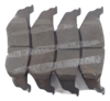 Pastilha de Freio de Cerâmica JURID - CHRYSLER PT Cruiser - Traseira - HQJ4011