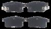 Pastilha de Freio Willtec - Honda Accord 3.5 - Traseira - PW166P